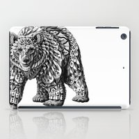 ornate iPad Cases featuring Ornate Bear by BIOWORKZ