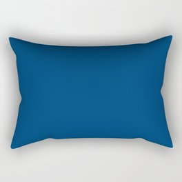 Indianapolis Football Team Speed Blue Solid Mix and Match Colors Rectangular Pillow