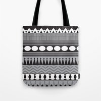 native Tote Bags featuring Native  by flamboyancedesigns