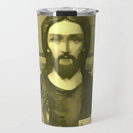 Pop Jesus (RGB) Travel Mug