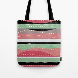 WAVING COLORS Tote Bag