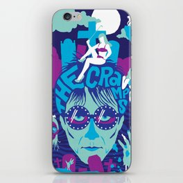 THE ROOTS OF HORROR ROCK :: THE CRAMPS iPhone Skin