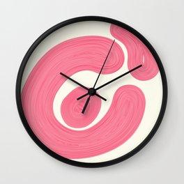 alien muscles Wall Clock