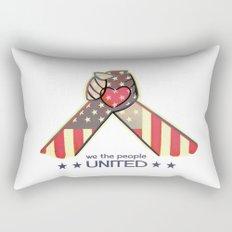 United Hands Rectangular Pillow