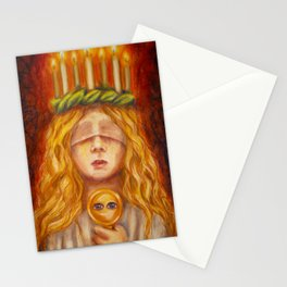 Saint Lucy Stationery Cards