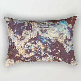 Agate Crystals  Rectangular Pillow