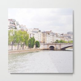 Quai de Paris Metal Print