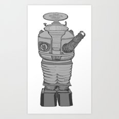 Danger Will Robinson! Art Print