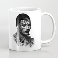 cancer Mugs featuring Cancer  by BeckiBoos
