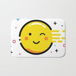 Happy Sun Bath Mat