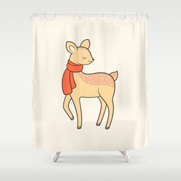 Doe deer Shower Curtain