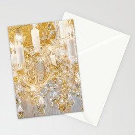 Shabby Glam Chandelier Stationery Cards