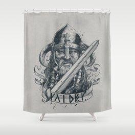 Raider (Viking) Shower Curtain