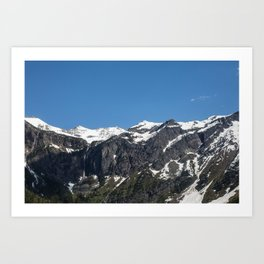 Avalanche Trail Art Print
