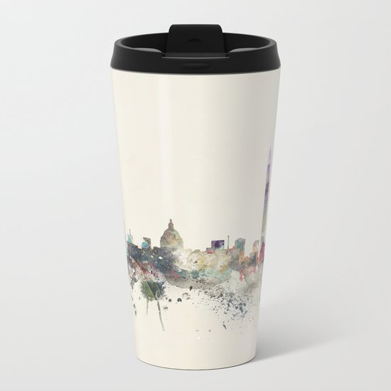 washington dc skyline Metal Travel Mug
