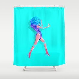 Woman Power Style1 Shower Curtain