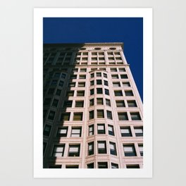 the Texture of Chicago Architecture Art Print