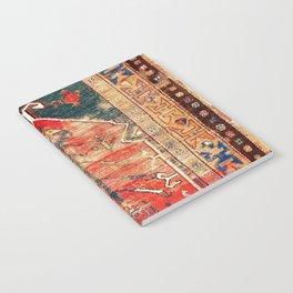Konya Central Anatolian Niche Rug Print Notebook