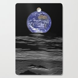 Earth from the moon Cutting Board