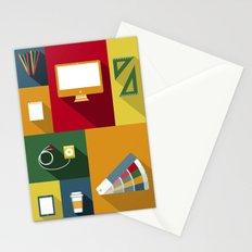 Designer flat tools Stationery Cards