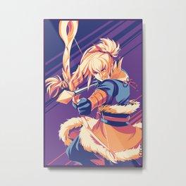 Fire Emblem Fates Takumi Metal Print