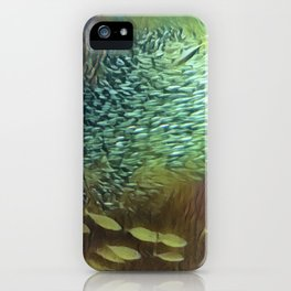 In the Fish Bowl II iPhone Case