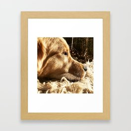 It is Safe to Feel Framed Art Print