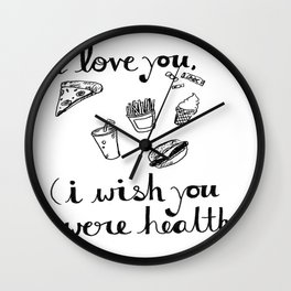 Health Problems Wall Clock