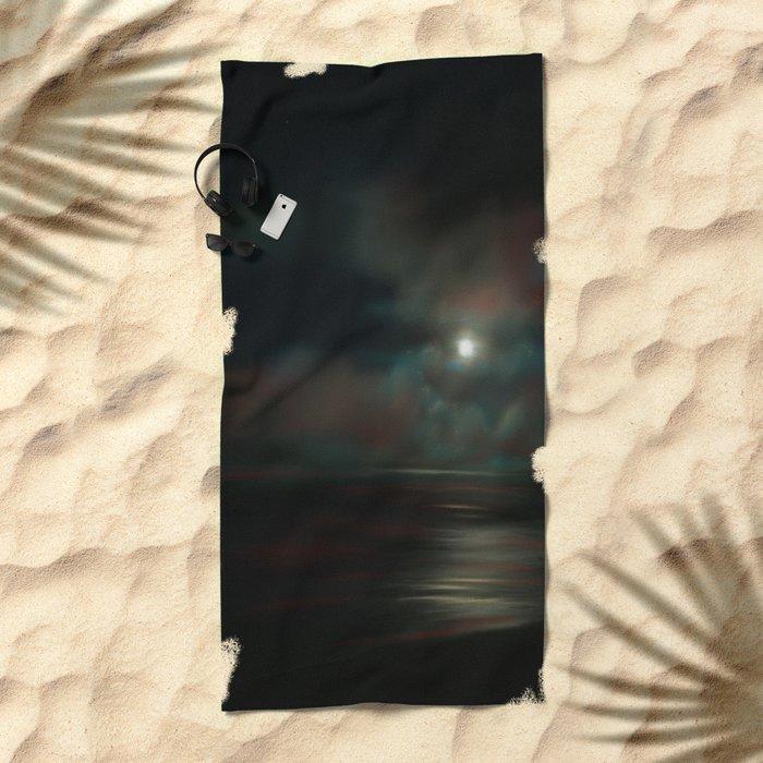 ToThe Moon & Back Beach Towel