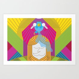 Anointed for Burial (by Anne Ulku) Art Print