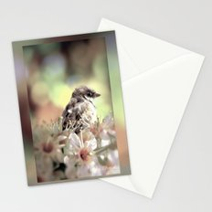 A lonely moment Stationery Cards