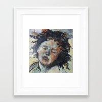 study Framed Art Prints featuring study by CEK-Design