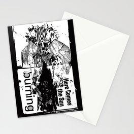 burning sun Stationery Cards