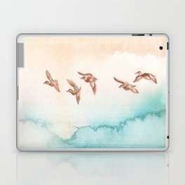 Blue-Winged Teals Laptop & iPad Skin