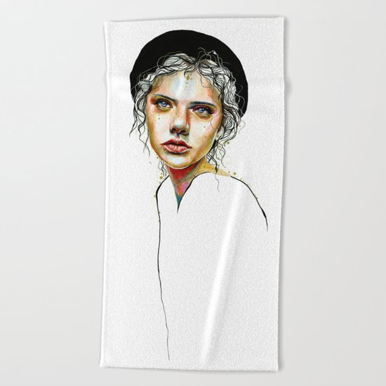 Out of the Shell Beach Towel