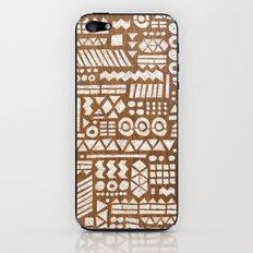 Northwoods Pattern. iPhone & iPod Skin