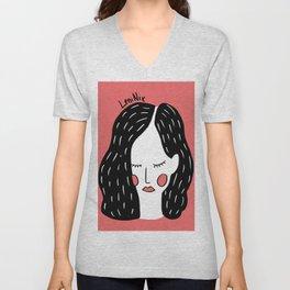 Dreamer girl Unisex V-Neck