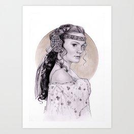 Natalie Portman Padme Amidala Art Print