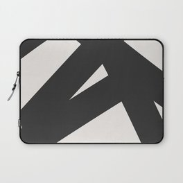 Neutral Abstract 1B Laptop Sleeve