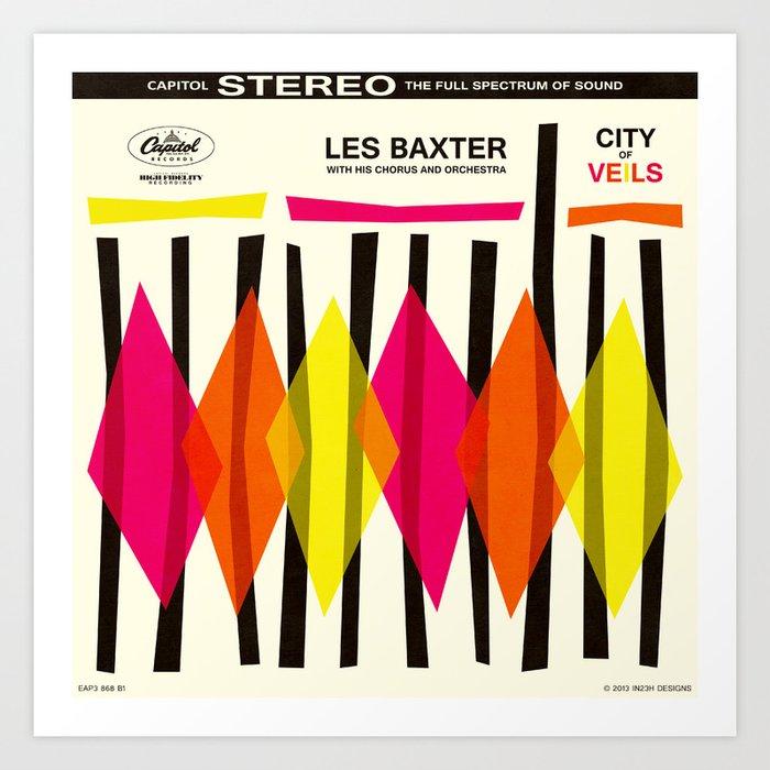 City of Veils Art Print
