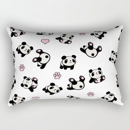 Panda pattern Rectangular Pillow