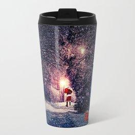 Tardis Christmas Travel Mug