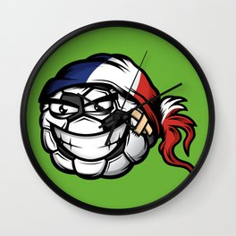 Football - France Wall Clock