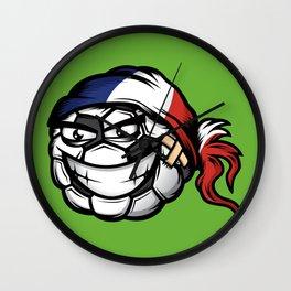 Football - France Wall Clock