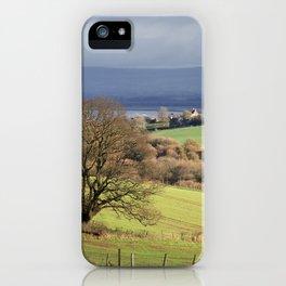 Winter Farmland iPhone Case