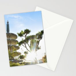 Shot in Japantown Stationery Cards