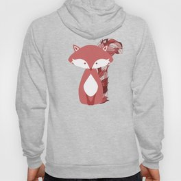 Cute Autumn FOX Design Hoody