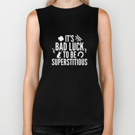 Superstitious Biker Tank