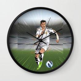 Football Stars: Gareth Bale Wall Clock