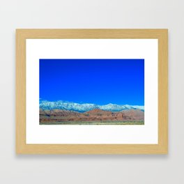 For the Love of Utah Framed Art Print